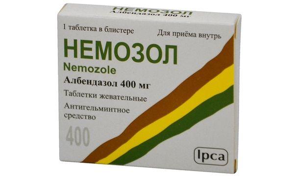 Немозол - антигельминтный (противогельминтный) препарат