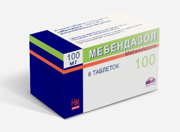 препарат Мебендазол против паразитов