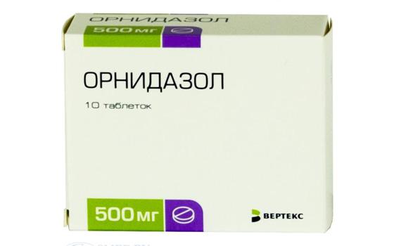 таблетки Орнидазол