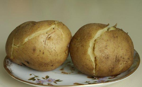 Питание картофель в мундире