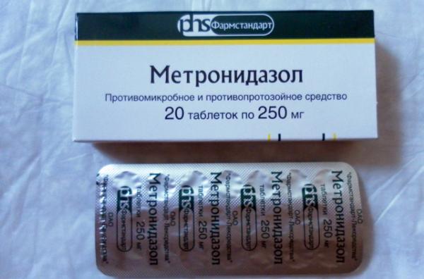 Метрогидазол побочные эффекты