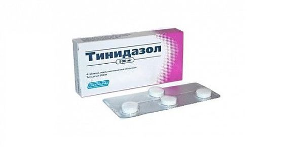 Тинидазол от бактериальных инфекций