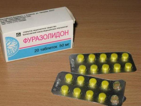 Дозировка и схемы приёма Фуразолидона