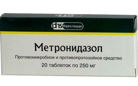 Метронидазол от глистов