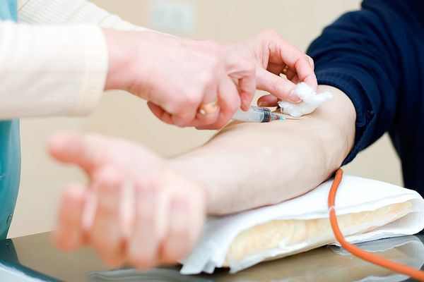 забор крови из вены на анализы