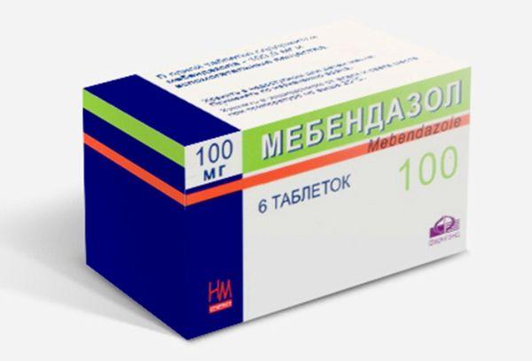 Мебендазол в лечении глистной инвазии