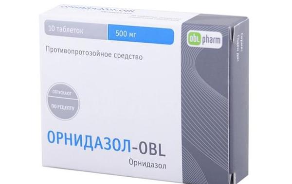 препарат орнидазол против паразитов