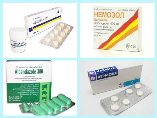 препараты для лечения токсокароза