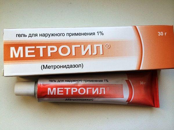 Состав крема Метронидазол