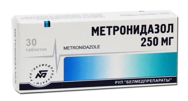 Метронидазол - это одно из производных препаратов нитроимидазола